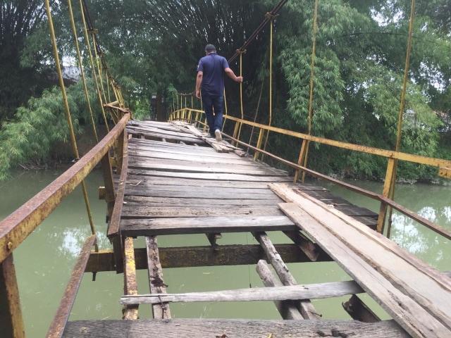 Wabup Pidie soal Jembatan Kayu Rusak: Dalam Waktu Dekat Diperbaiki (700646)