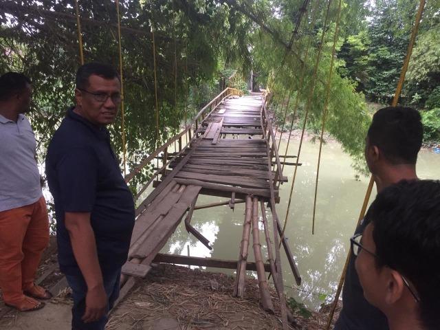 Wabup Pidie soal Jembatan Kayu Rusak: Dalam Waktu Dekat Diperbaiki (700647)