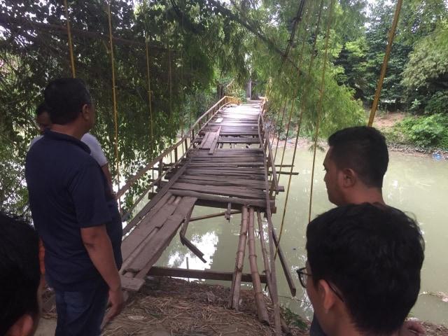 Wabup Pidie soal Jembatan Kayu Rusak: Dalam Waktu Dekat Diperbaiki (700648)