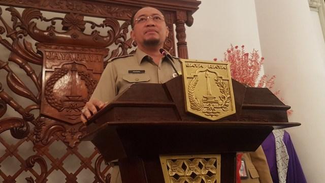 Kepala Badan Pajak dan Retribusi Daerah (BPRD) Faisal Syafruddin