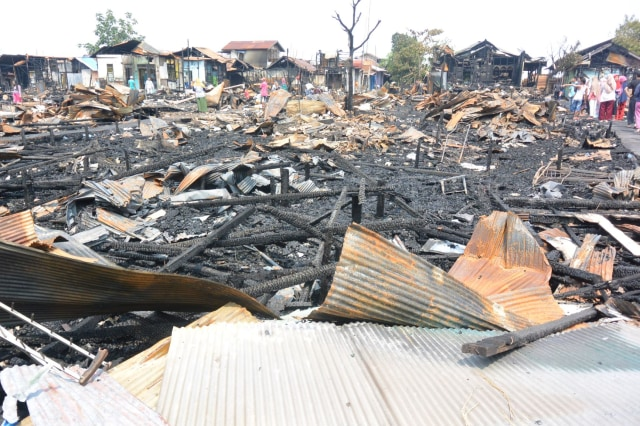 Marak Kebakaran, Dinsos Banjarmasin Tekor Dana Bansos (298907)