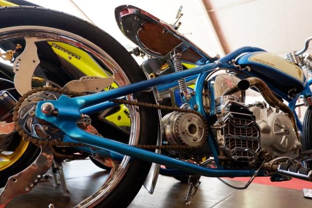 Motor kustom Honda Vario