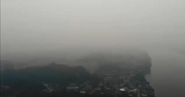 Malaysia Rugi Rp 5 Triliun akibat Asap Karhutla Indonesia pada 2013    (181154)