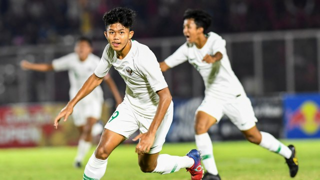 Indonesia U-16 vs Filipina U-16, Ahmad Athallah