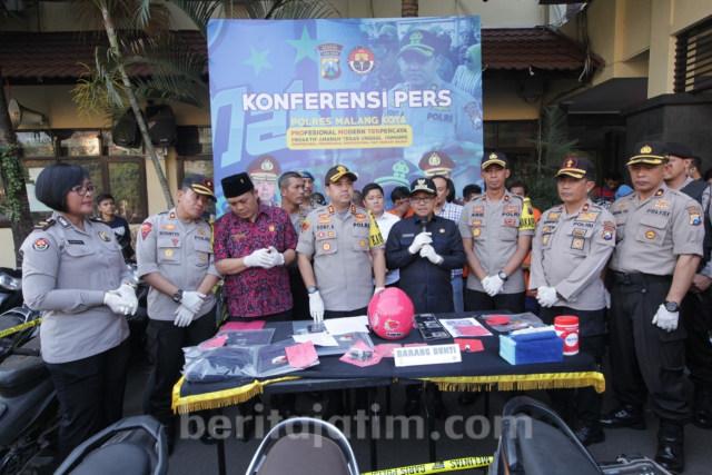 Polisi Ungkap 44 Kasus Curanmor di Kota Malang (114134)