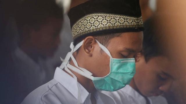 Foto: Jokowi Tinjau Pemadaman Karhutla di Riau (211076)