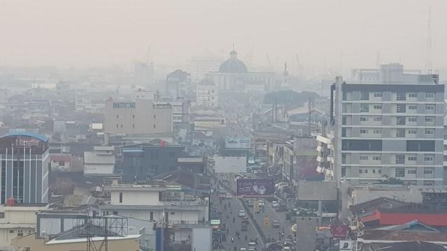 Foto: Kondisi Terkini Kabut Asap di Pontianak, Kalimantan Barat (287983)
