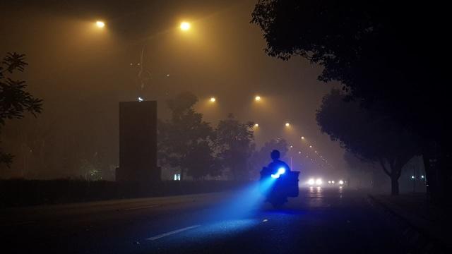 Foto: Kondisi Terkini Kabut Asap di Pontianak, Kalimantan Barat (287985)