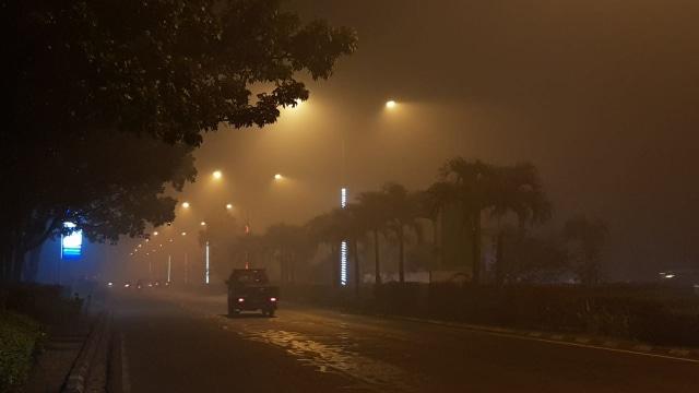 Foto: Kondisi Terkini Kabut Asap di Pontianak, Kalimantan Barat (287987)