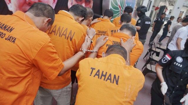 Foto: Wajah 8 Pengedar Sabu Jaringan Malaysia-Batam-Jakarta (60692)