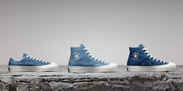 Converse Daur Ulang Jeans Bekas Jadi Sneakers (176527)