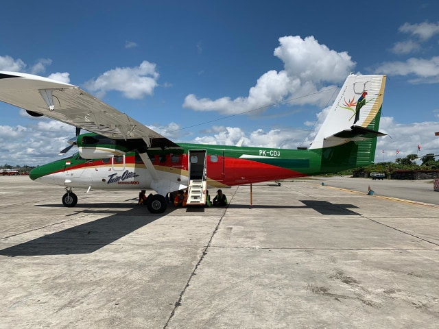 Pesawat Twin Otter Angkut 4 Penumpang Hilang Kontak di Papua (26692)