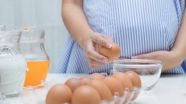 ibu hamil makan telur