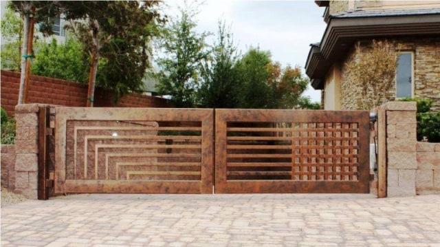 Lengkapi Tampilan Eksterior Rumah, Berikut 6 Model Pintu Pagar Minimalis! (329741)
