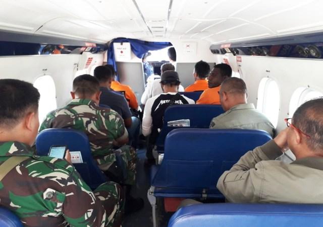 Tim SAR gabungan pencarian pesawat twin otter di Papua-IST.jpg
