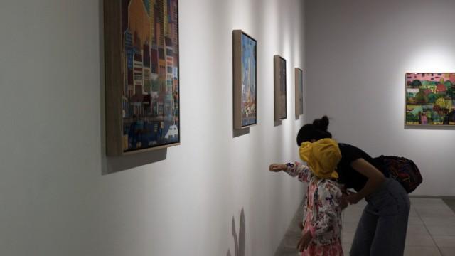 Pameran lukisan Francesco Lietti di Taipa House, Macao