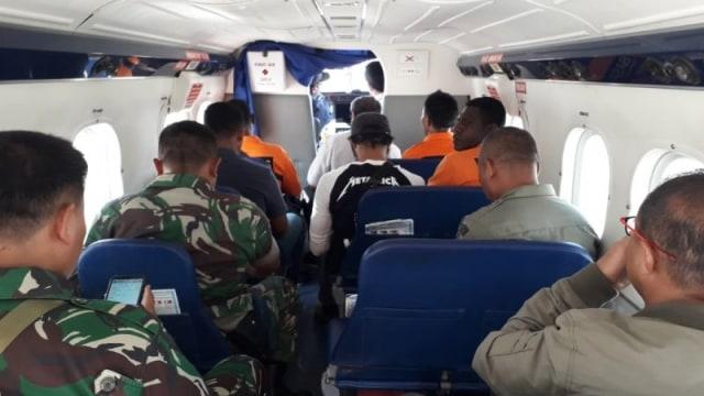 Serpihan Diduga Pesawat Twin Otter yang Hilang di Papua Ditemukan (12710)