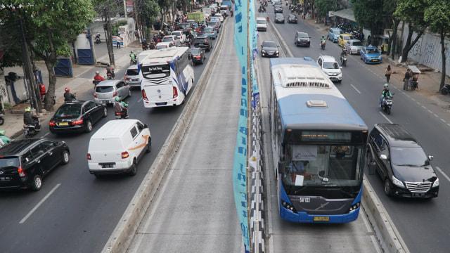 Kendaraan, Tilang Elektronik, Jalur Transjakarta