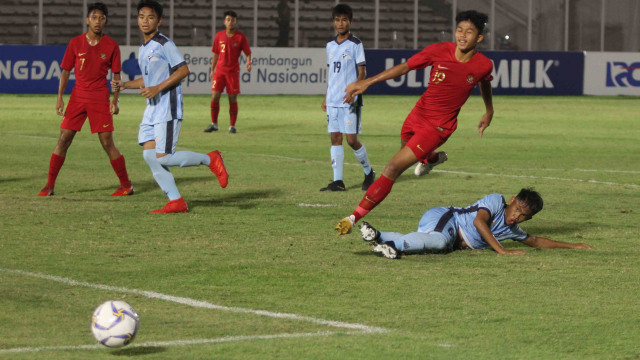Foto: Timnas U-16 Pesta Gol ke Gawang Kepulauan Mariana Utara (2699)