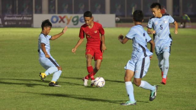 Foto: Timnas U-16 Pesta Gol ke Gawang Kepulauan Mariana Utara (2695)