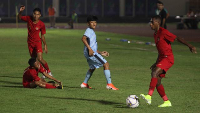 Foto: Timnas U-16 Pesta Gol ke Gawang Kepulauan Mariana Utara (2701)