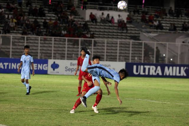 Foto: Timnas U-16 Pesta Gol ke Gawang Kepulauan Mariana Utara (2706)