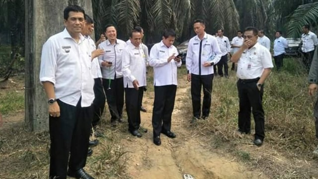 Jembatan 'Flying Fox Motor' di Riau Sudah 20 Tahun Beroperasi (6422)