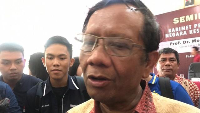 Mahfud MD Minta Perguruan Tinggi tak Melarang Mahasiswa Berorganisasi (8881)