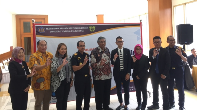 Konferensi prers Launching Kawasan Berikat, Bea Cukai