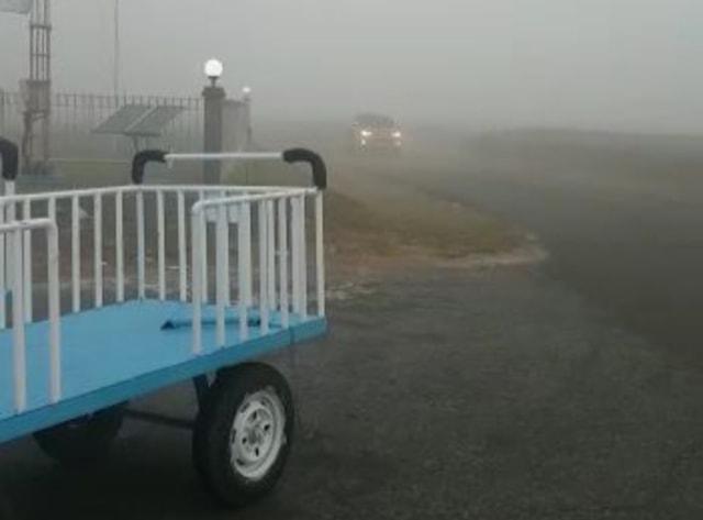 Kabut Asap Visibility 50 Meter, Delay 7 Jam di Pangkalan Bun (744678)
