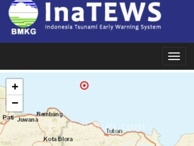 Gempa 5.6 SR di Laut Tuban, Warga Tuban Justru Tak Rasakan Getaran (5744)