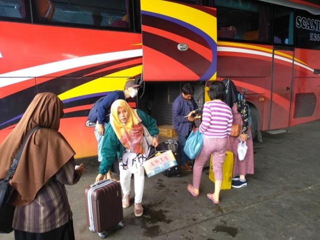 Kabut Asap, Warga Riau Banyak yang Mengungsi ke Medan (116359)