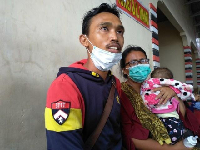 Kabut Asap, Warga Riau Banyak yang Mengungsi ke Medan (116360)
