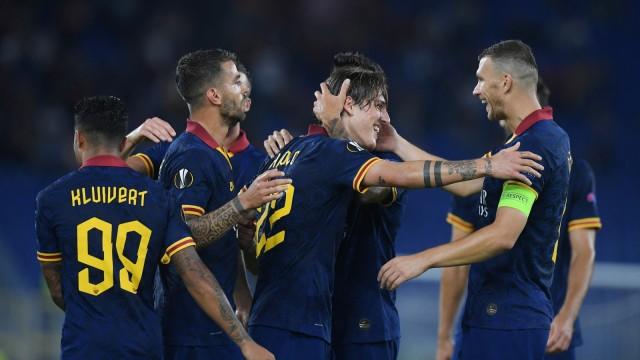 Laga Derby della Capitale Bantu Roma Menang Telak di Liga Europa (133739)