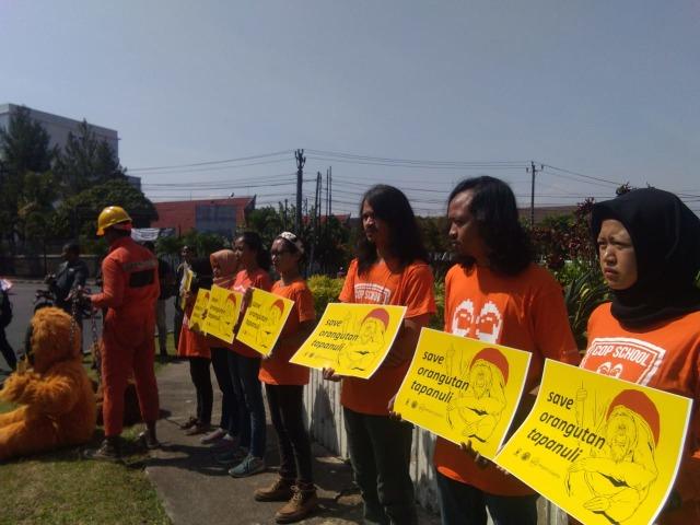 Save Orang Utan, Aktivis Desak Penghentian Proyek PLTA di Batang Toru (511479)