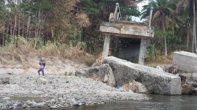 2 Tahun Berlalu, Jembatan Roboh di Tolitoli Tak Kunjung Diperbaiki (101327)