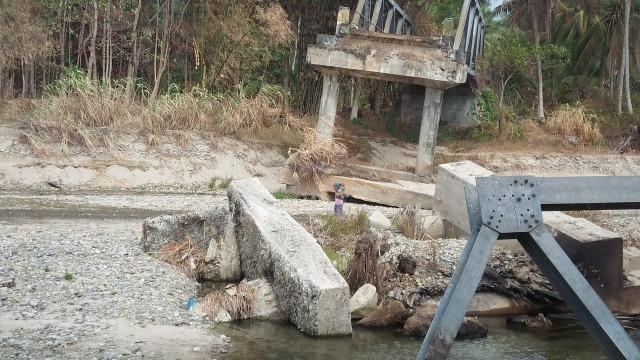 2 Tahun Berlalu, Jembatan Roboh di Tolitoli Tak Kunjung Diperbaiki (101328)