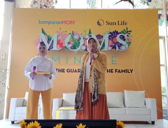 Moms Mingle : Tips Sehatnya Fisik dan Finansial Keluarga (451360)