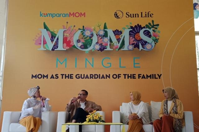Moms Mingle : Tips Sehatnya Fisik dan Finansial Keluarga (451361)