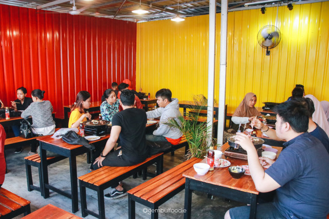 Sensasi Makan Daging All You Can Eat Harga Rp 88.000 di Yogyakarta (39416)
