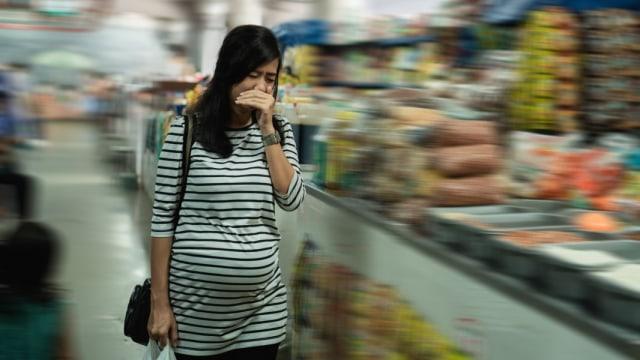 ibu hamil tak tahan bau