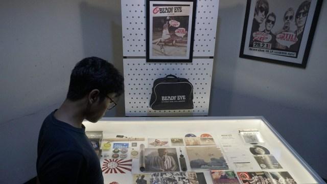 Foto: Berkunjung ke Pameran 'Memorabilia Liam Gallagher' (343646)