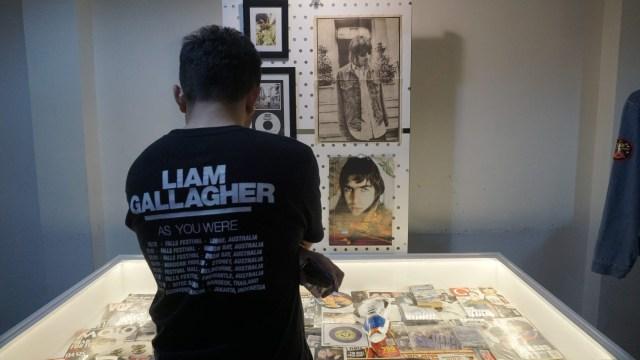 Foto: Berkunjung ke Pameran 'Memorabilia Liam Gallagher' (343650)