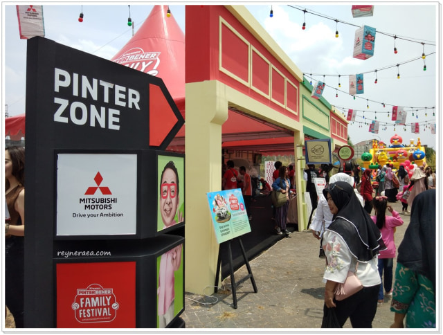 Keseruan XPANDER Pinter Bener Family Festival Di Surabaya  (122890)