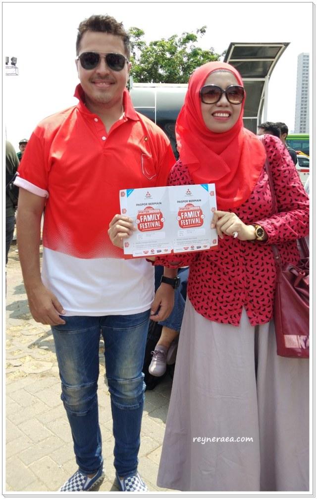 Keseruan XPANDER Pinter Bener Family Festival Di Surabaya  (122893)