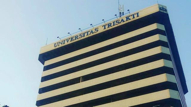 Gedung Universitas Trisakti.