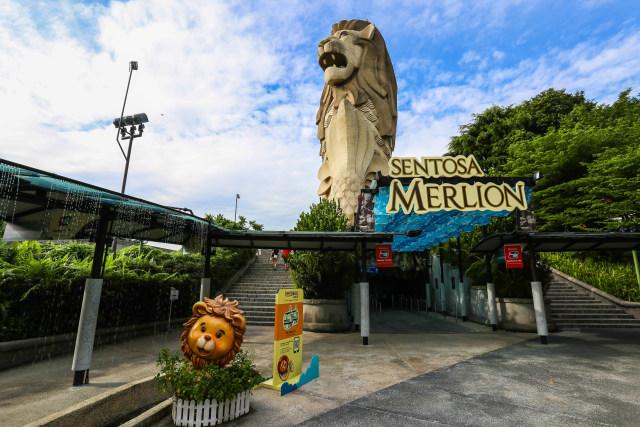Gara-gara Pembangunan Jalan, Merlion di Singapura Terancam Dirobohkan (178041)