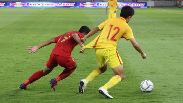 Foto: Laga Timnas U-16 vs China Berakhir Imbang (480106)