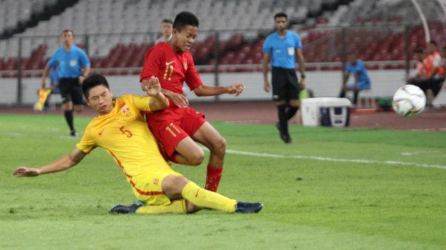 Foto: Laga Timnas U-16 vs China Berakhir Imbang (480109)