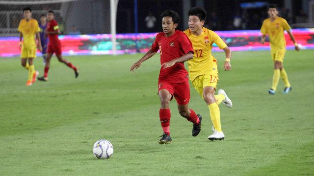 Foto: Laga Timnas U-16 vs China Berakhir Imbang (480104)